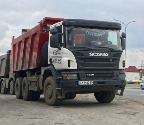 Самосвал Scania j400